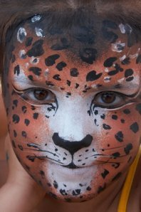 kids animal party face paint