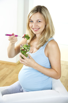 pregnant vegetarian
