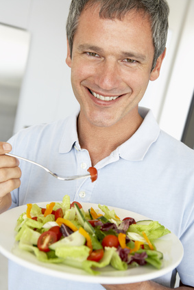 use low calorie subtitute dressings on salad