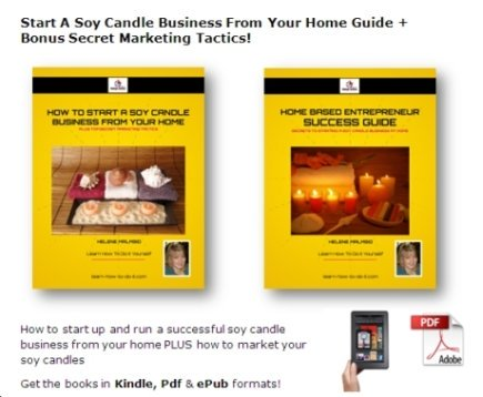 soy candle business