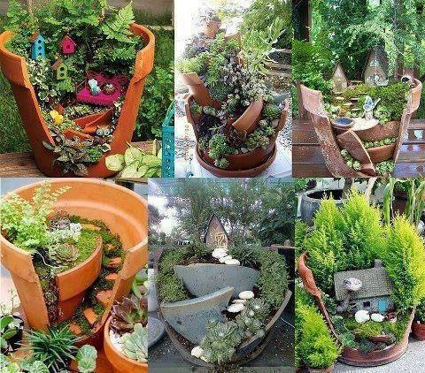 fairy garden from pinterest
