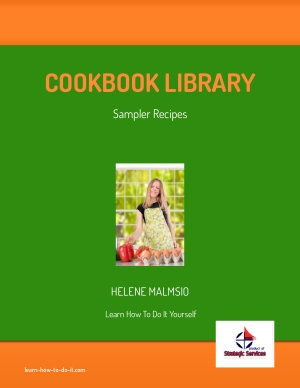 Free recipes sampler from 32 cookbooks >> Download Now