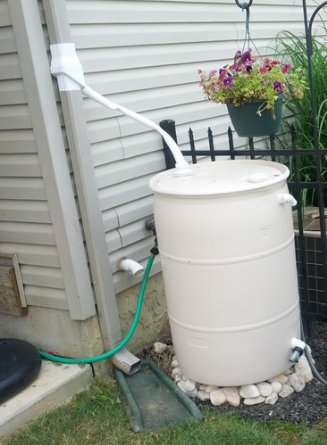 How to collect rainwater at home for Home rainwater collection
