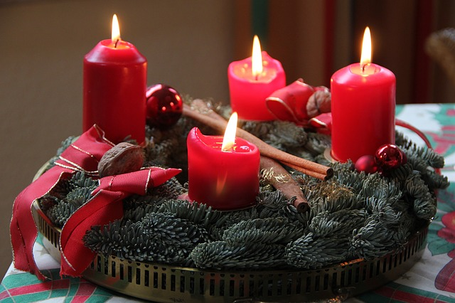 chriastmas table setting ideas