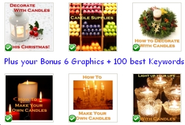 The bonus Candle graphics in pack #2