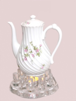 how to make tea light candles