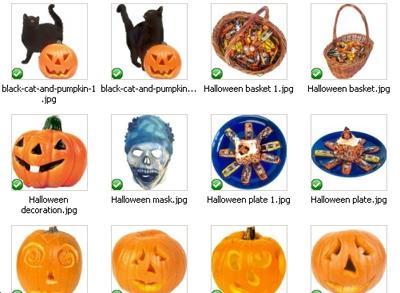 60 bonus Halloween royalty free graphics