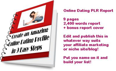 Building online dating profile