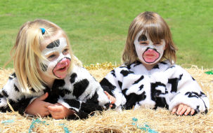 kids farm animal costumes