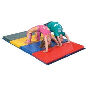 pilates for kids tumbling mat