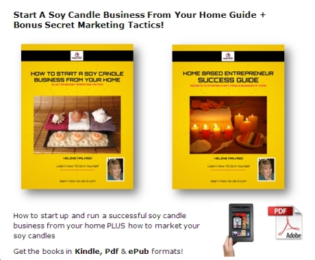 how to book start candle business