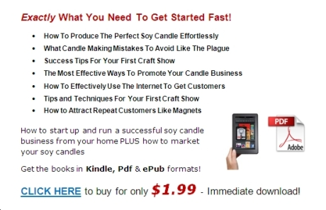 Learn How To Make Candles Of All Kinds