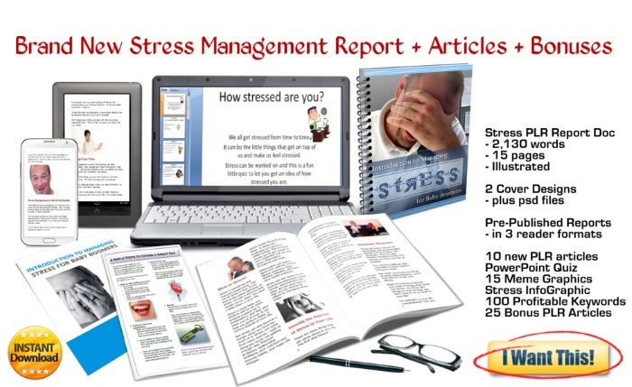 stress management plr