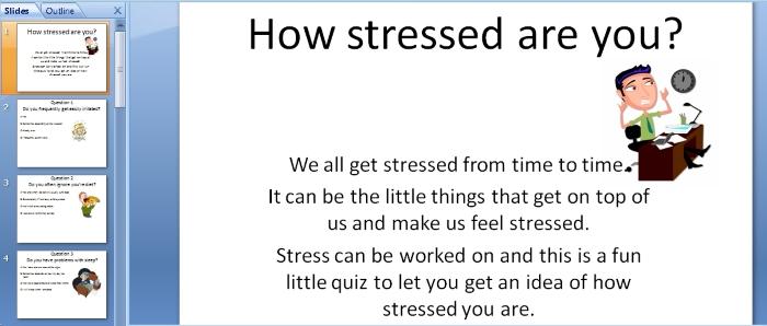 Teen Stress Quizzes 10