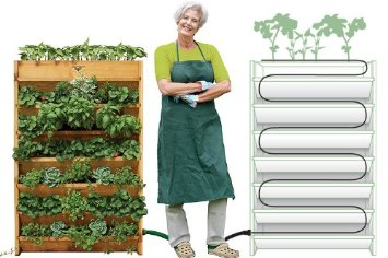 You Can See Some Examples Of Tower Gardens Here With The Gronomics VG3245 Vertical  Garden Planter, 32 Inch By 45 Inch By 9 Inch