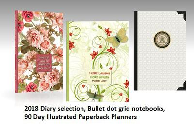 2018 Diary and Planner Selection by Strategic Publications