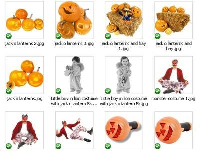 60 Halloween PLR graphics