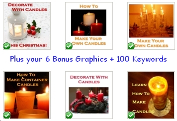 The bonus Candle graphics in pack #3