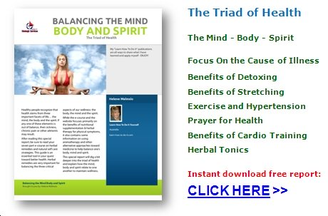 free body mind spirit balance book download