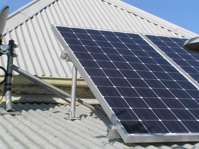 These Solar panels on my own home roof save me a fortune on energy costs.